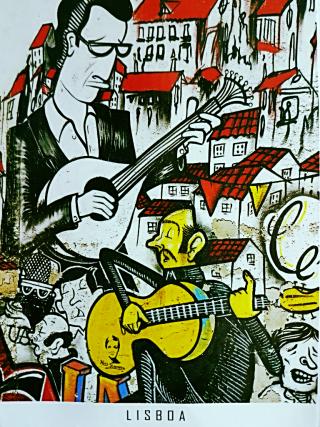 Fado  in the Alfama district of Lisboa/Lisboa/Lisbona